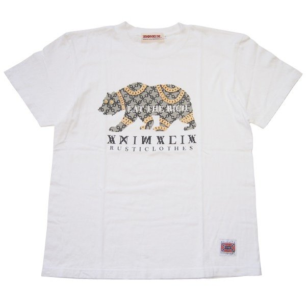 ANIMALIA アニマリア GOLD BEAR S/S TEE|steelo|05