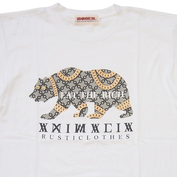 ANIMALIA アニマリア GOLD BEAR S/S TEE|steelo|06