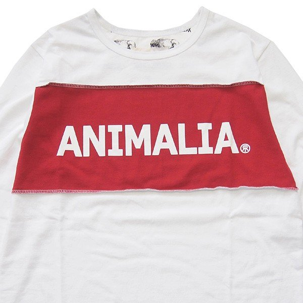 ANIMALIA アニマリア OLD WEST L/S RR LOGO|steelo|02