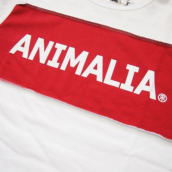 ANIMALIA アニマリア OLD WEST L/S RR LOGO|steelo|03