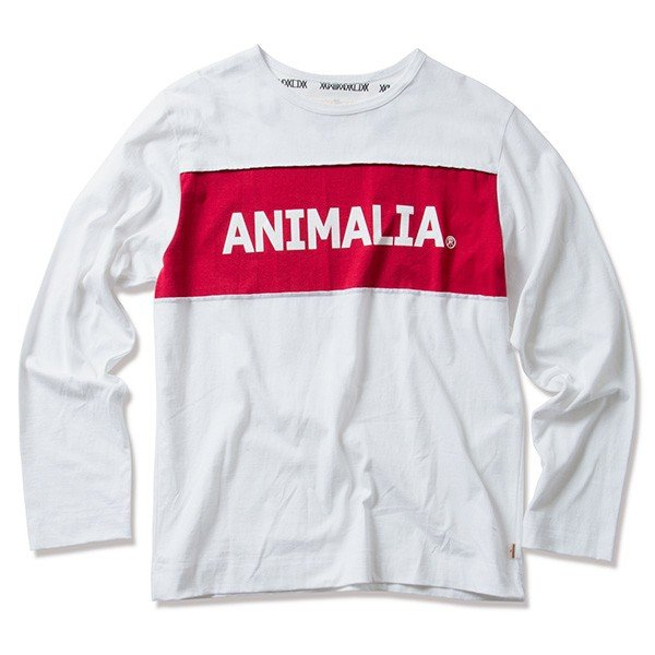 ANIMALIA アニマリア OLD WEST L/S RR LOGO|steelo|04