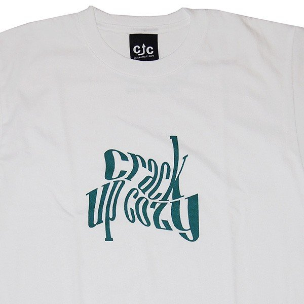 crack up cozy クラックアップコージー twistverdant Tee [White]|steelo|02