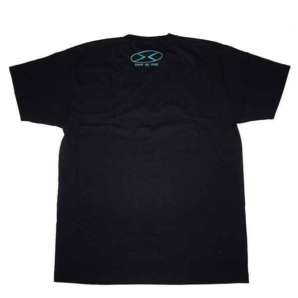 crack up cozy クラックアップコージー twistverdant Tee [BLACK]|steelo|03