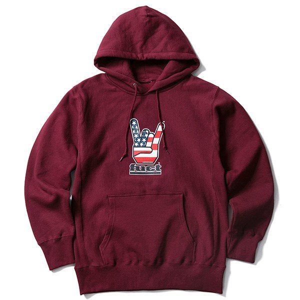 【SALE30%OFF】FUCT SSDD ファクト HORNED HAND PULLOVER HOODIE|steelo|02