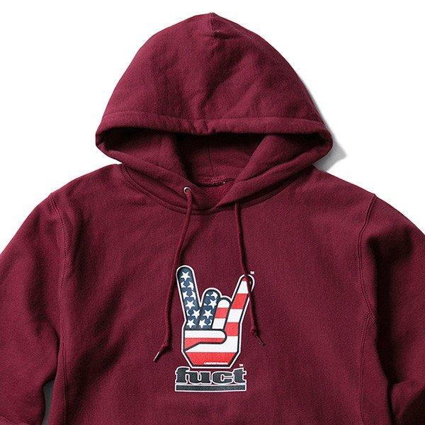 【SALE30%OFF】FUCT SSDD ファクト HORNED HAND PULLOVER HOODIE|steelo|03