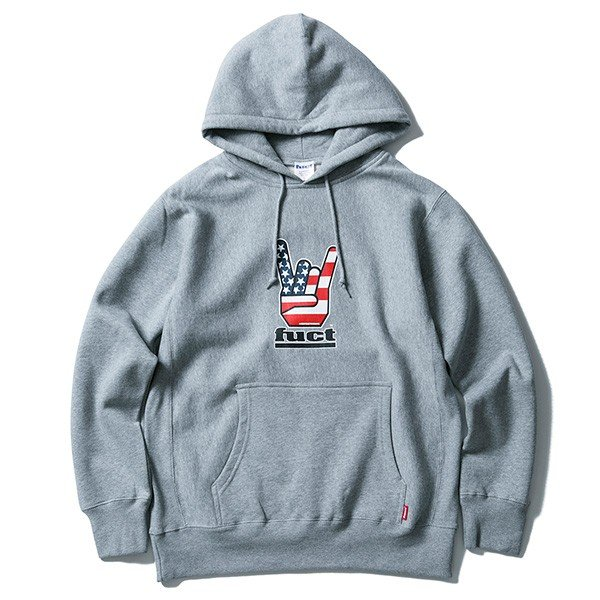 【SALE30%OFF】FUCT SSDD ファクト HORNED HAND PULLOVER HOODIE|steelo|04