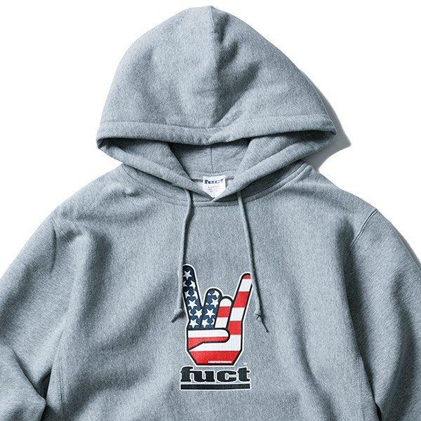 【SALE30%OFF】FUCT SSDD ファクト HORNED HAND PULLOVER HOODIE|steelo|05
