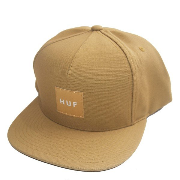 HUF ハフ DUCK CANVAS BOX LOGO SNAPBACK|steelo|03