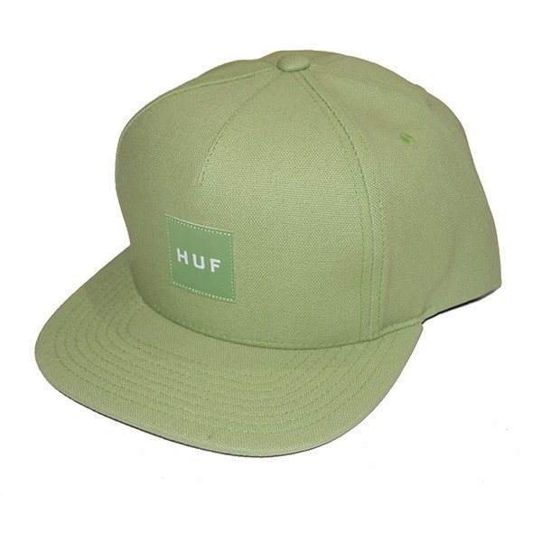 HUF ハフ DUCK CANVAS BOX LOGO SNAPBACK|steelo|05