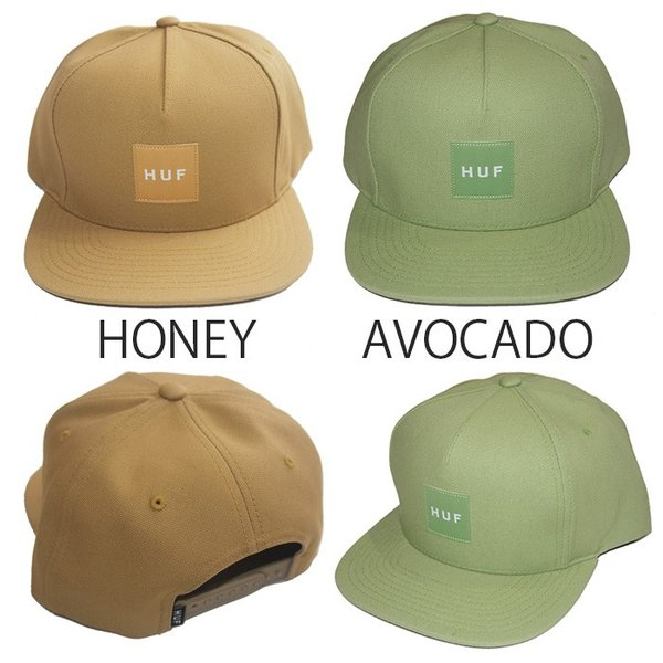 HUF ハフ DUCK CANVAS BOX LOGO SNAPBACK|steelo|06