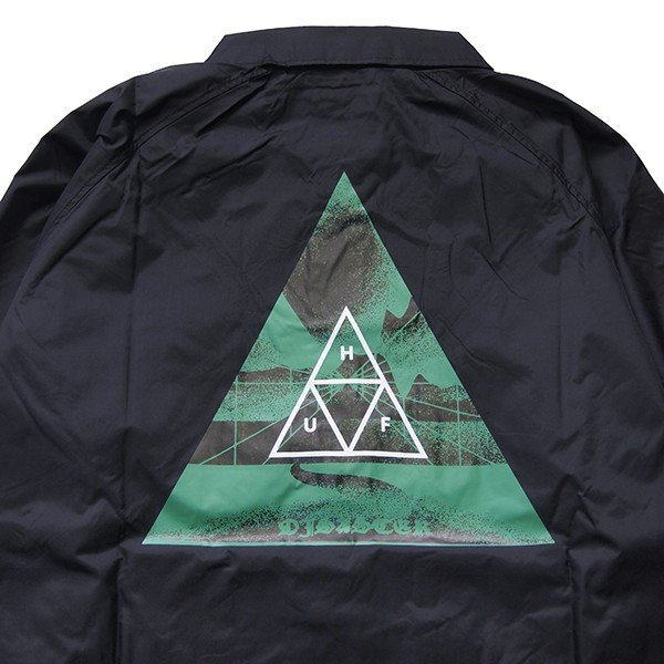 HUF ハフ DIMENSIONS COACHES JACKET steelo 04