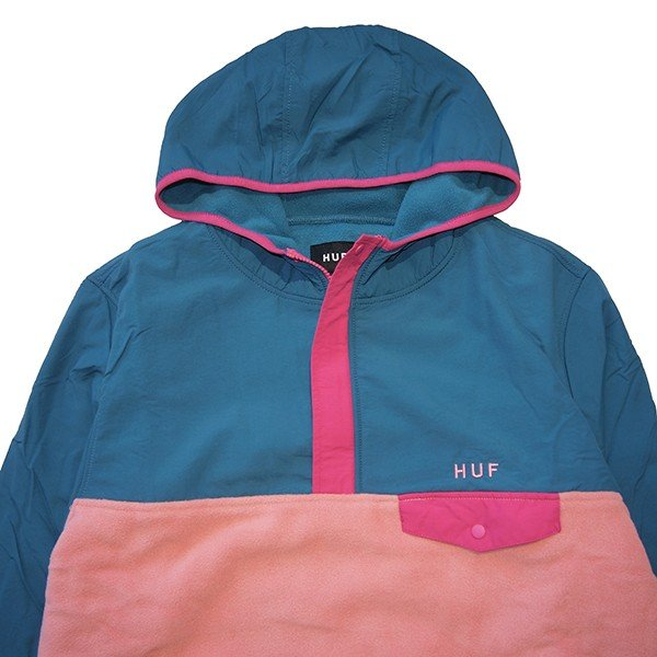 HUF ハフ MUIR HOODED PULLOVER JACKET|steelo|02