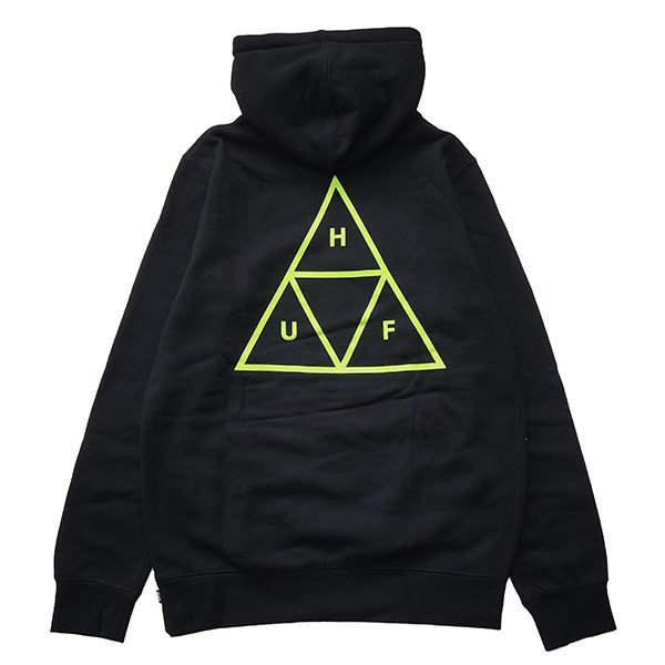 HUF ハフ TRIPLE TRIANGLE PULLOVER HOOD|steelo|01