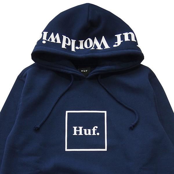 HUF ハフ OUTLINE BOX LOGO P/O HOODIE|steelo|03