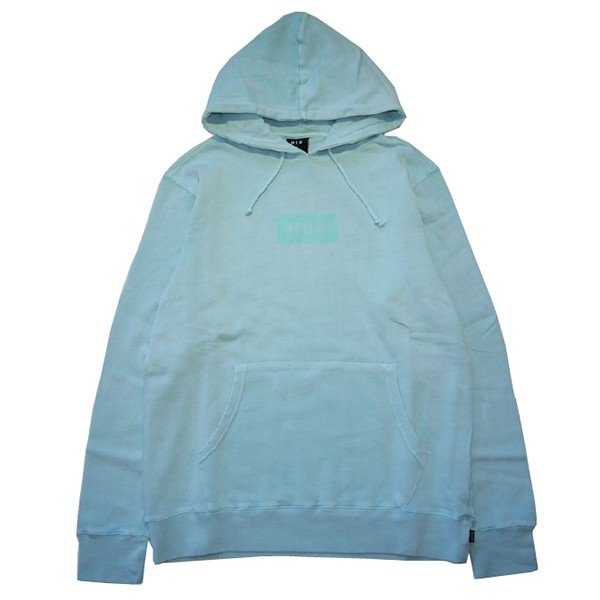 HUF ハフ BAR LOGO OVERDYED PULLOVER|steelo