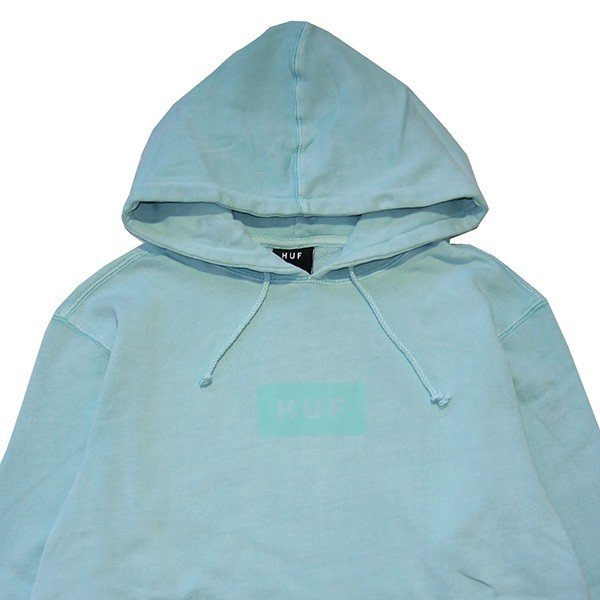 HUF ハフ BAR LOGO OVERDYED PULLOVER|steelo|02