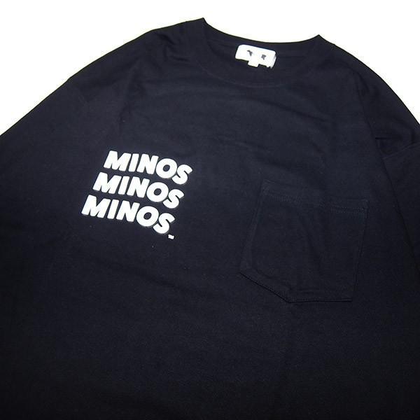 MINOS ミノス WATCHFULL EYES LS LOOSE POCKET TEE|steelo|06