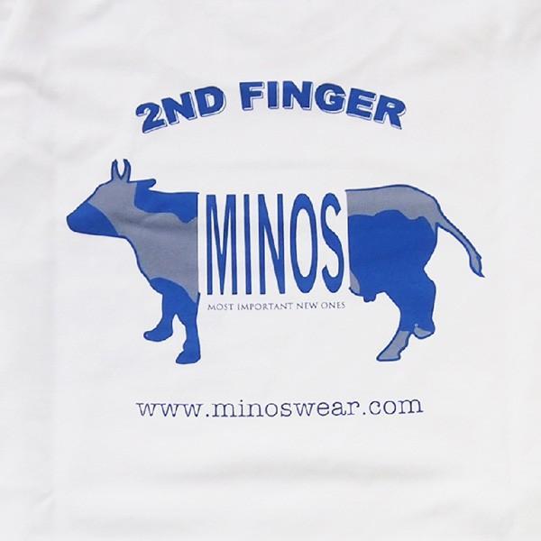 MINOS ミノス LS  CAMO LOGO HEAVY TEE|steelo|11