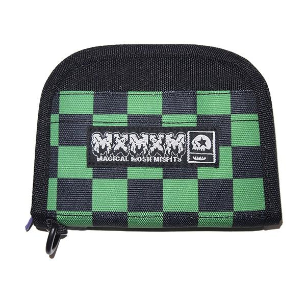 MxMxM マモミ MxMxM AMAZING CHECKER WALLET|steelo
