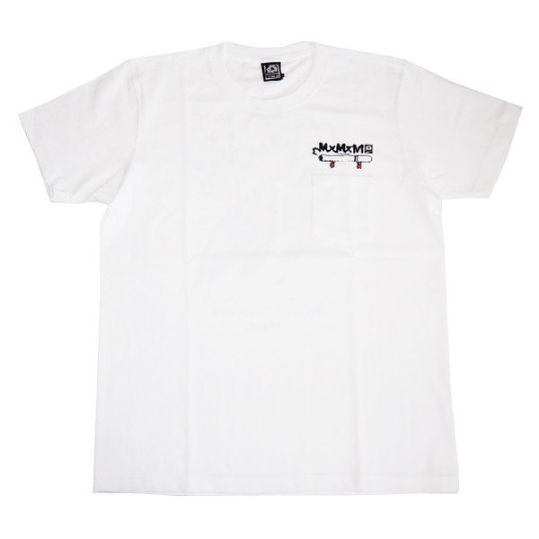 MxMxM マモミ  MY SMOKE POCKET TEE|steelo