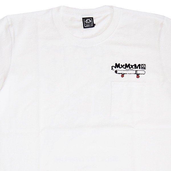 MxMxM マモミ  MY SMOKE POCKET TEE|steelo|02