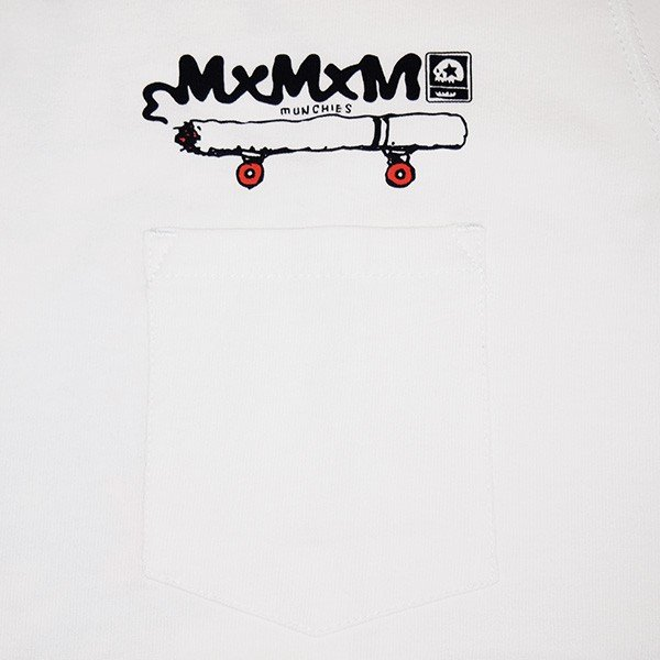 MxMxM マモミ  MY SMOKE POCKET TEE|steelo|05
