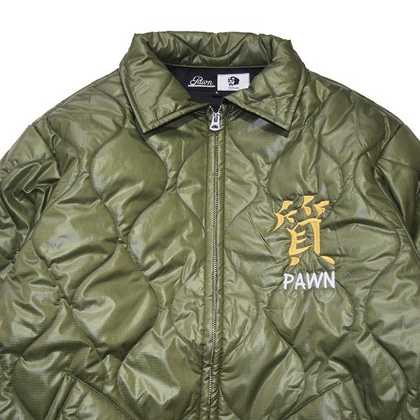 PAWN パーン COFFIN QUILTING JACKET|steelo|03