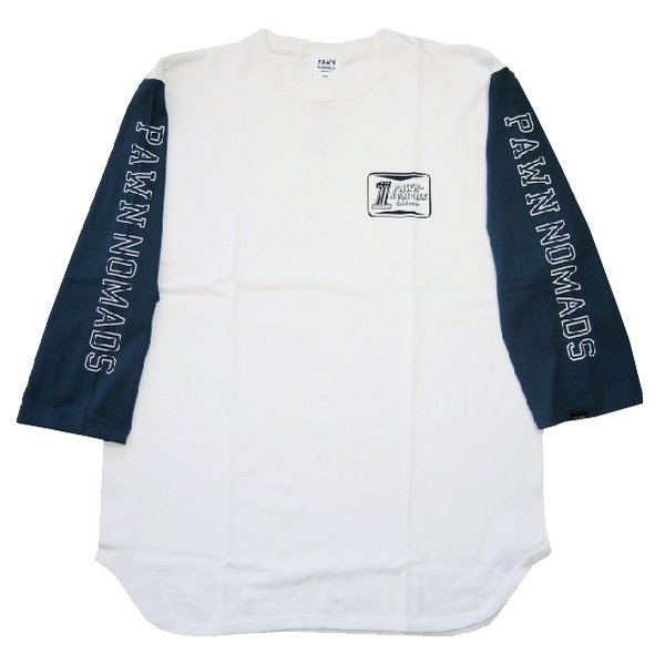 PAWN パーン NO.1  3/4 SLEEVE TEE|steelo|02