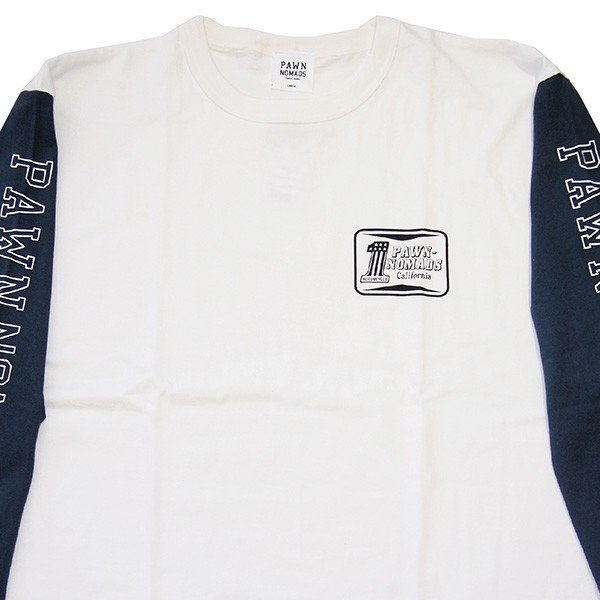 PAWN パーン NO.1  3/4 SLEEVE TEE|steelo|03