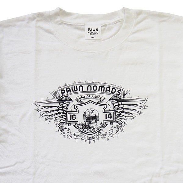 PAWN パーン NOMADS WINGED TEE|steelo|06