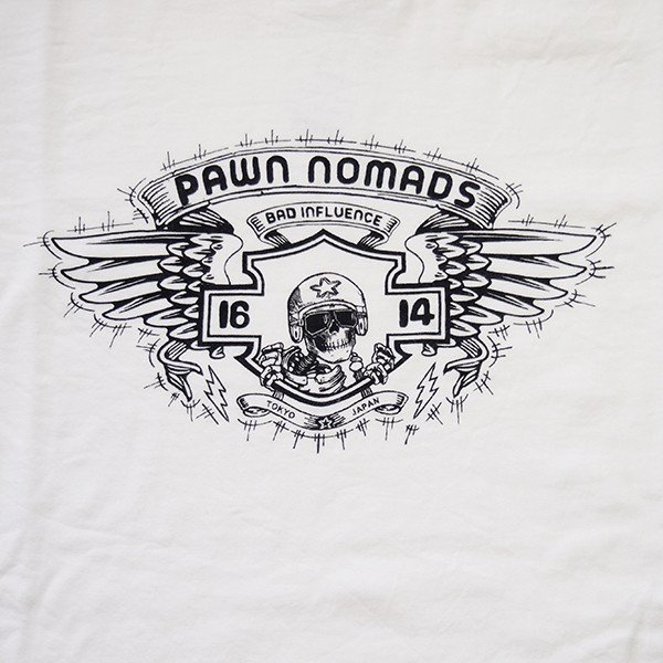 PAWN パーン NOMADS WINGED TEE|steelo|07