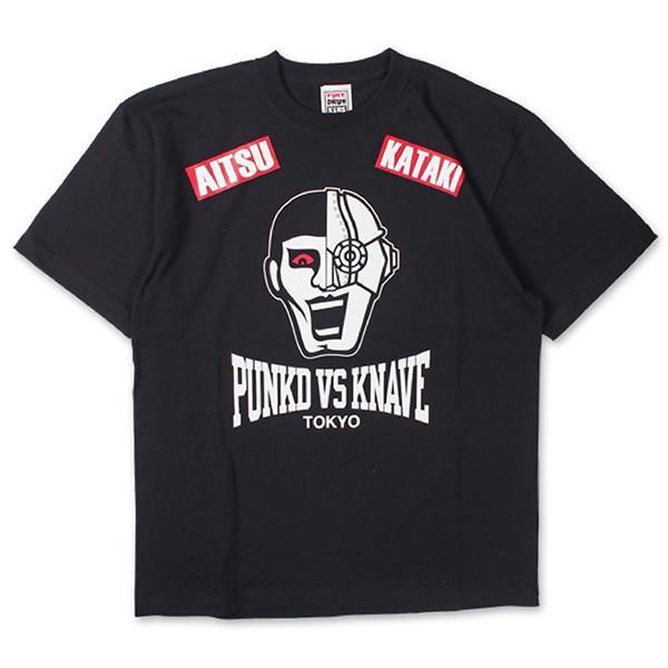 Punk Drunkers パンクドランカーズ 【PDSxKNAVE】あいつvsカタキTEE|steelo|02
