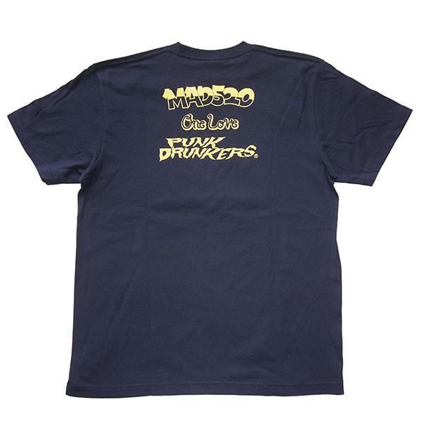 Punk Drunkers パンクドランカーズ 【PDSxMAD520】レゲエドランカーズTEE|steelo|03