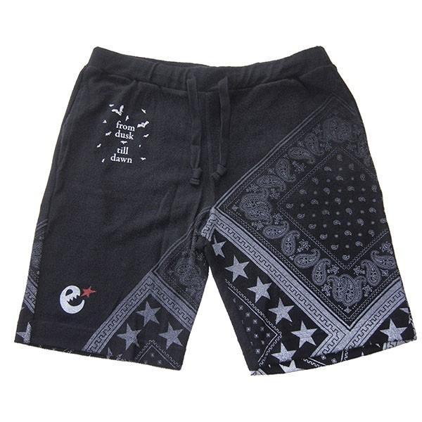 range レンジ  pile bandanna print shorts steelo