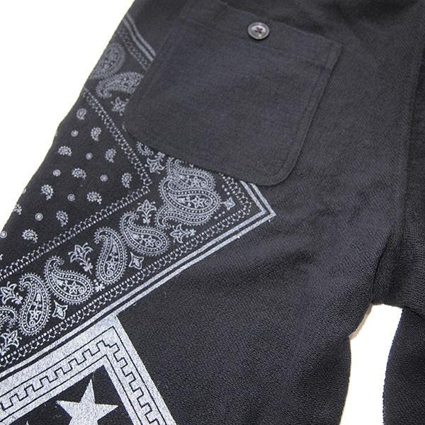 range レンジ  pile bandanna print shorts steelo 04