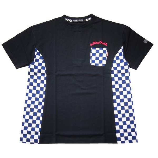 ROLLING CRADLE ロリクレ RC CHECKER BIG Tee|steelo