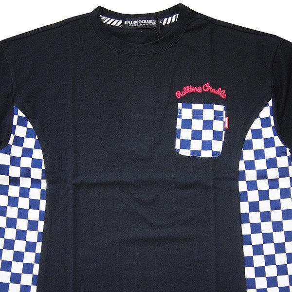 ROLLING CRADLE ロリクレ RC CHECKER BIG Tee|steelo|03