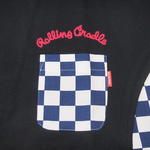 ROLLING CRADLE ロリクレ RC CHECKER BIG Tee|steelo|06