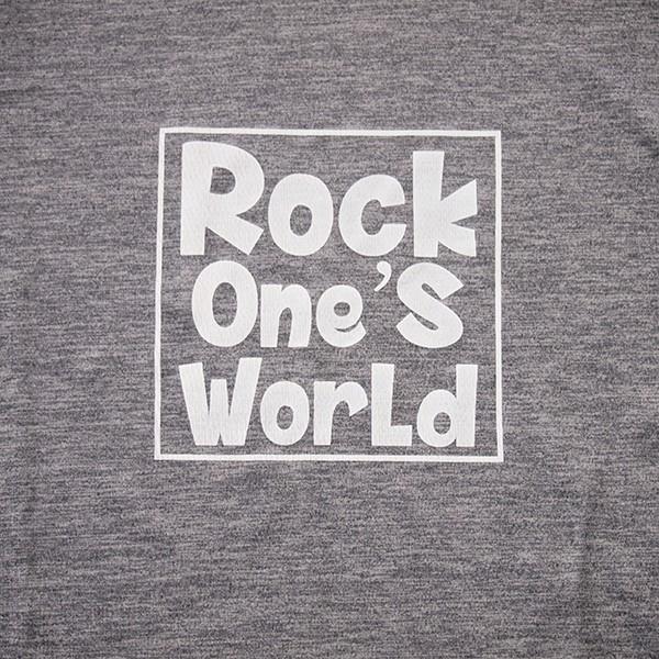 ROCK ONE'S WORLD ロックワンズワールド SQUARE LOGO SP TEE|steelo|03