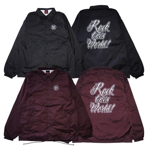 ROCK ONE'S WORLD ロックワンズワールド GO OUT COACH JACKET|steelo
