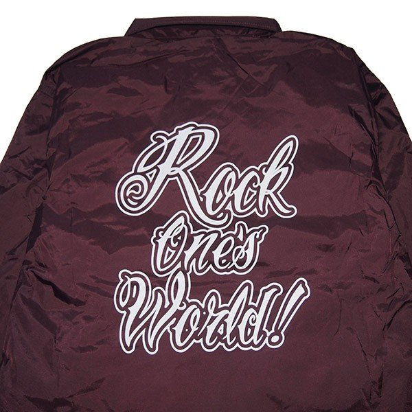 ROCK ONE'S WORLD ロックワンズワールド GO OUT COACH JACKET|steelo|11