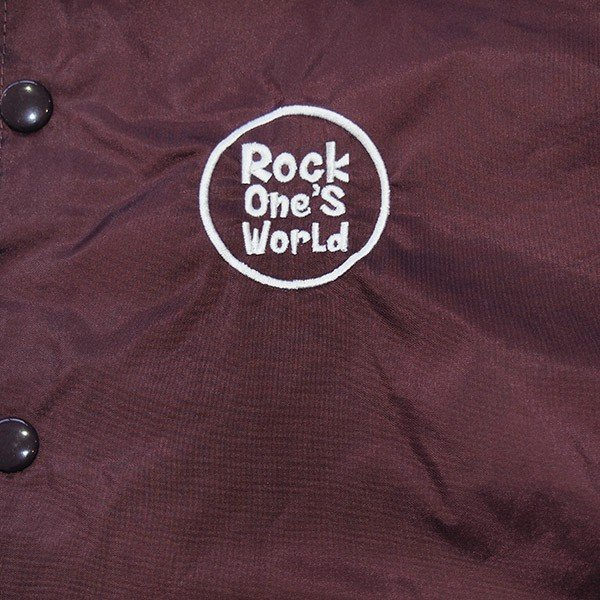 ROCK ONE'S WORLD ロックワンズワールド GO OUT COACH JACKET|steelo|12