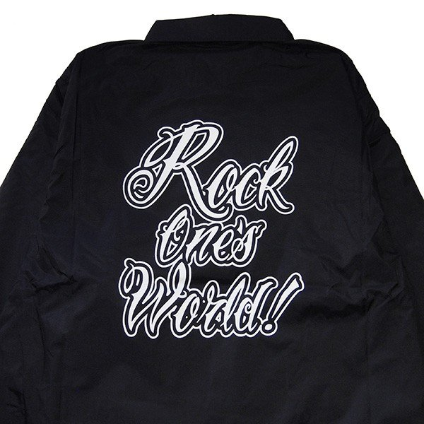 ROCK ONE'S WORLD ロックワンズワールド GO OUT COACH JACKET|steelo|05