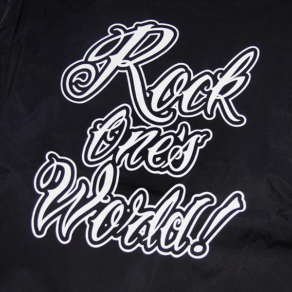 ROCK ONE'S WORLD ロックワンズワールド GO OUT COACH JACKET|steelo|06