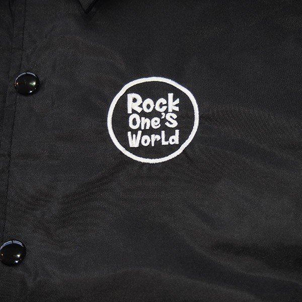 ROCK ONE'S WORLD ロックワンズワールド GO OUT COACH JACKET|steelo|07