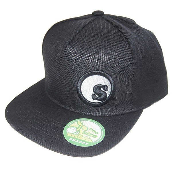 SeedleSs シードレス S-dot burst snap back cap|steelo|02