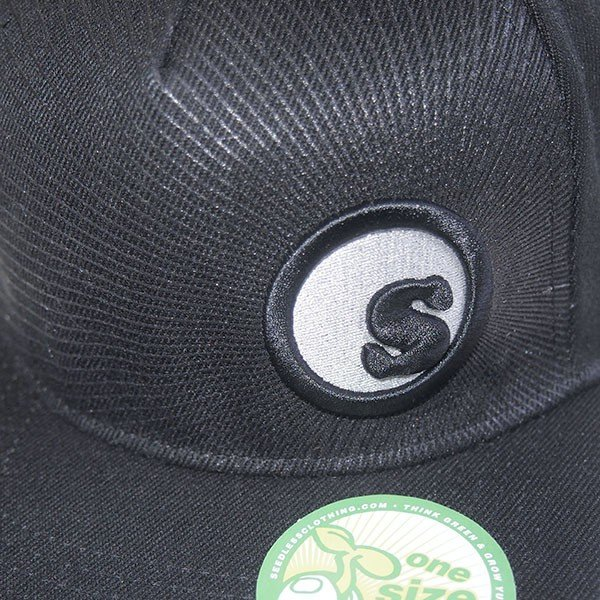SeedleSs シードレス S-dot burst snap back cap|steelo|06