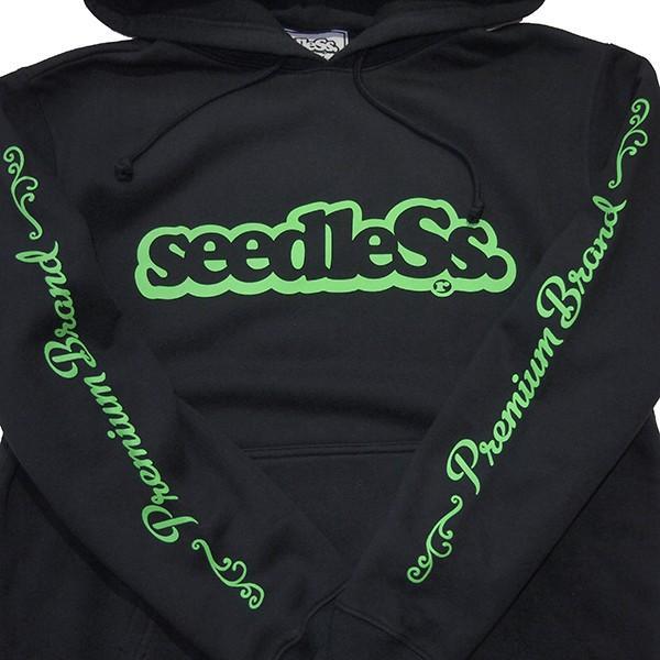 SeedleSs シードレス  sd premium sleeve logo hoody|steelo|03