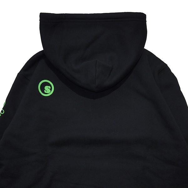SeedleSs シードレス  sd premium sleeve logo hoody|steelo|05