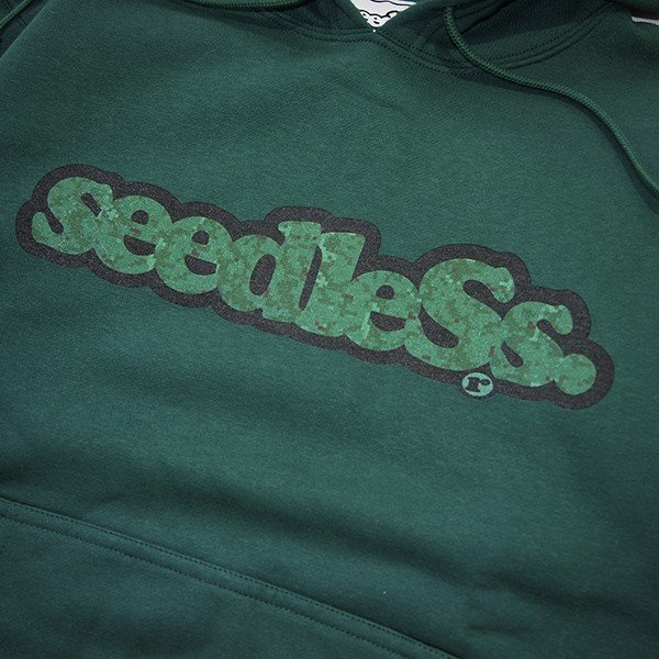 SeedleSs シードレス  sd green camo logo hoody|steelo|03